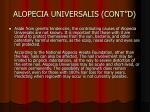alopecia universalis cont d14
