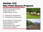 section 319 non point source program