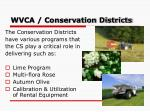 wvca conservation districts