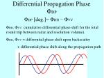 differential propagation phase dp