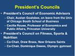 president s councils