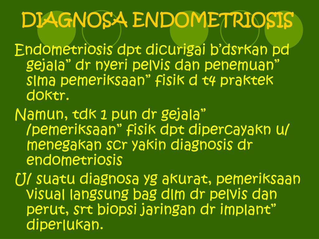 DIAGNOSA ENDOMETRIOSIS