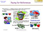 paying for references50