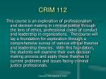 crim 112