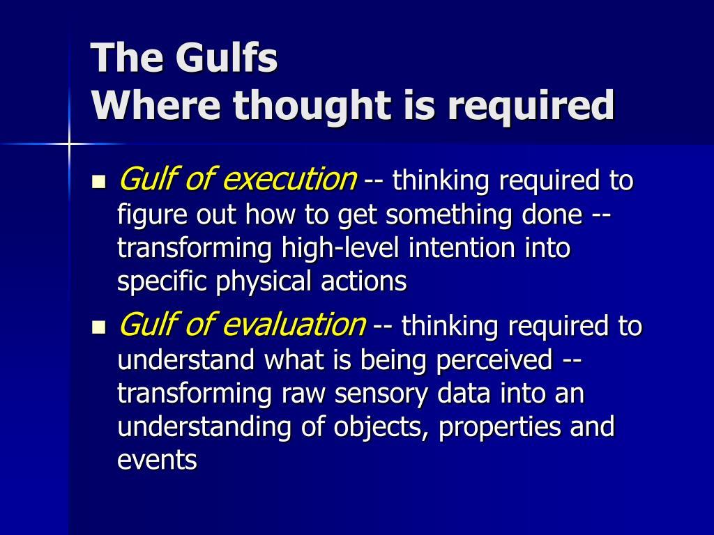 The Gulfs