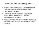 grace care center cont