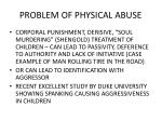 problem of physical abuse