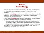 weber methodology