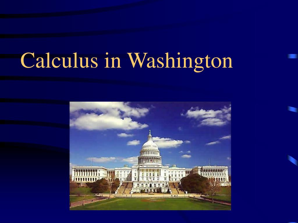 calculus in washington l.