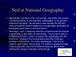neil at national geographic