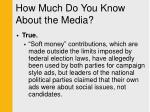 how much do you know about the media9