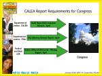 calea report requirements for congress
