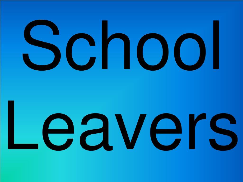 school leavers l.