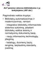 alf parama lietuvos bibliotekoms ir j lankytojams jav dol4