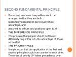 second fundamental principle