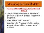 mentoring network model 2