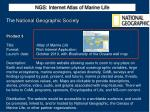 ngs internet atlas of marine life