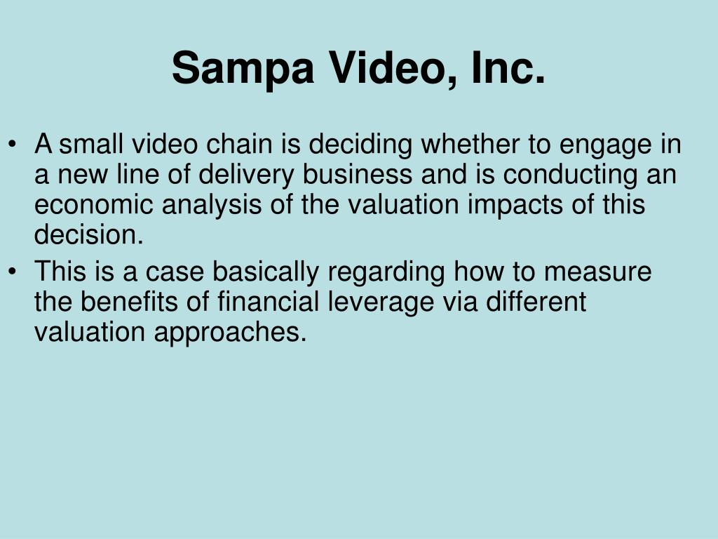 sampa video inc l.