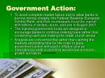 government action