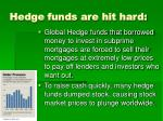 hedge funds are hit hard
