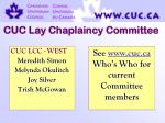 cuc lay chaplaincy committee63