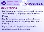 cuc training
