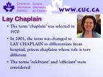 lay chaplain