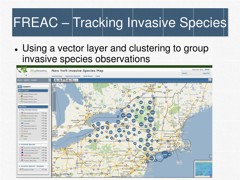 FREAC – Tracking Invasive Species