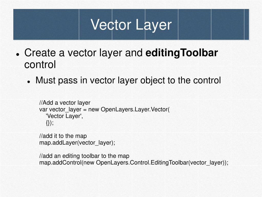 Vector Layer
