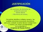 justificaci n5