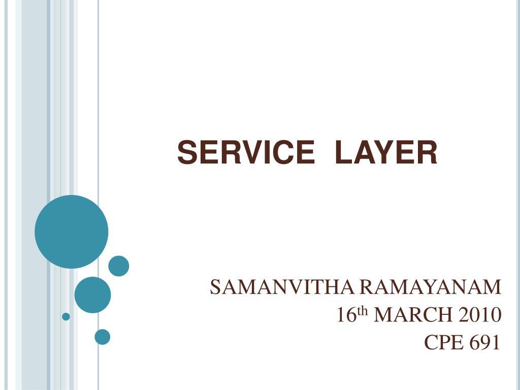 service layer l.