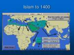islam to 1400