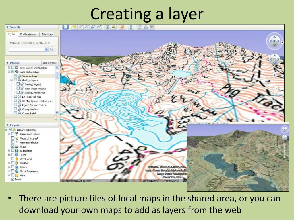 Creating a layer