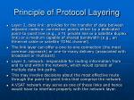 principle of protocol layering11