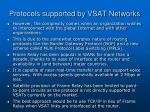 protocols supported by vsat networks19
