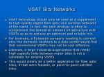vsat star networks26