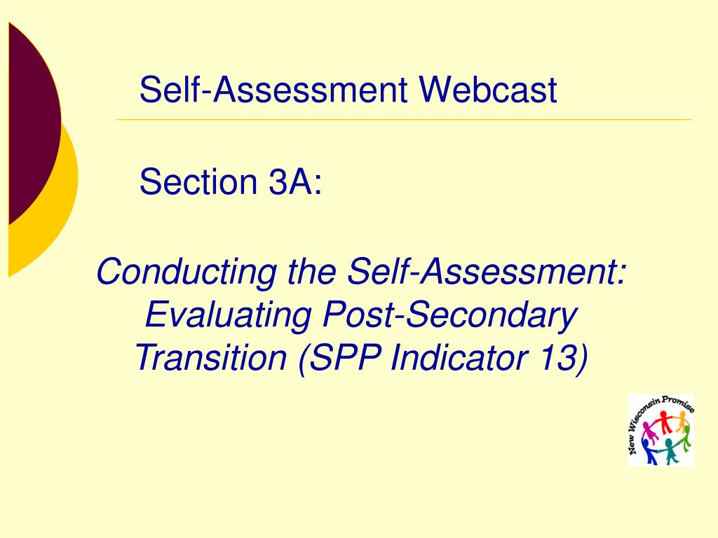 self assessment webcast l.