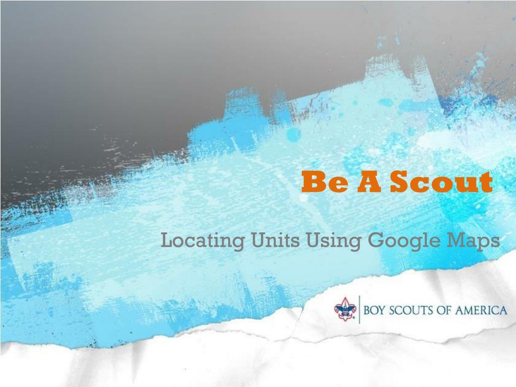 be a scout l.