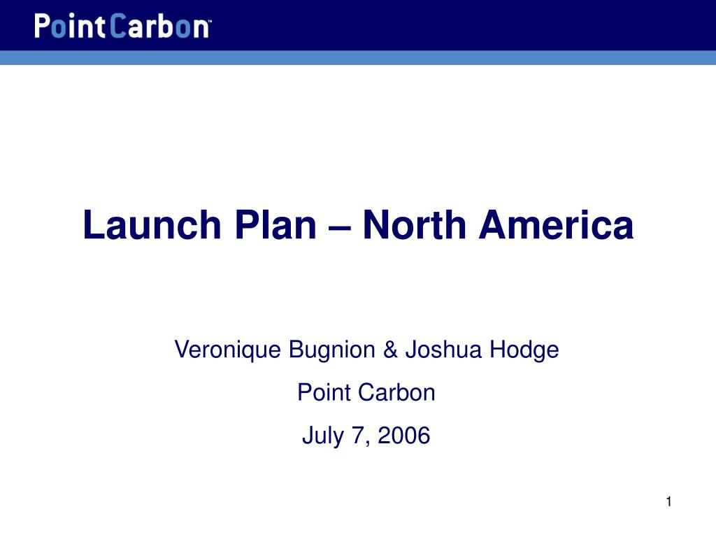 launch plan north america l.