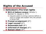 rights of the accused18