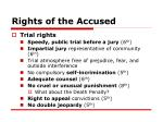 rights of the accused19