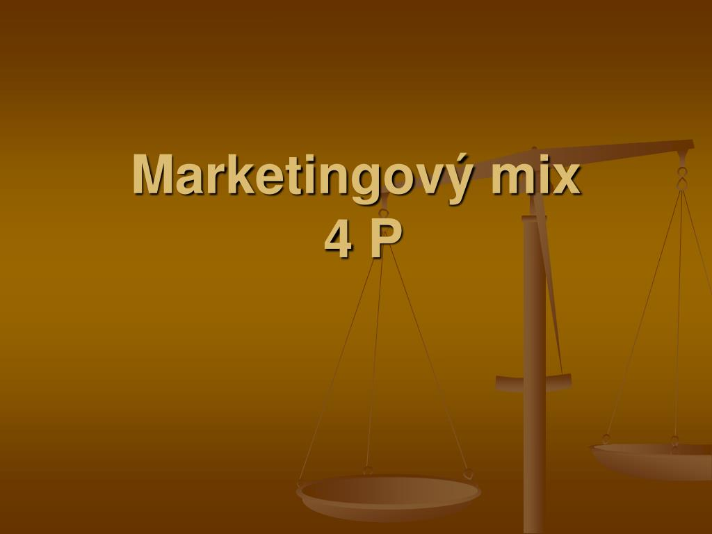 marketingov mix 4 p l.