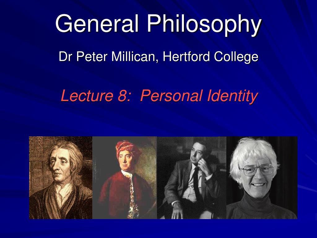 general philosophy l.