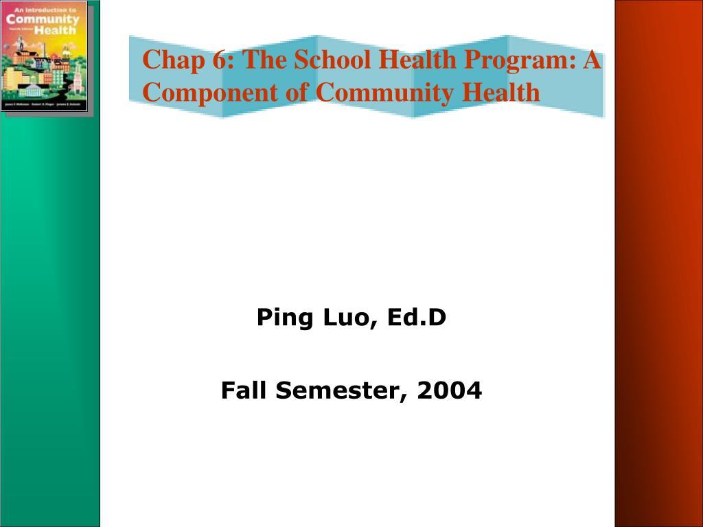 ping luo ed d fall semester 2004 l.