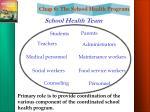 school health team