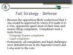 fall strategy defense