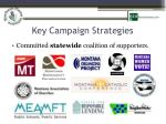 key campaign strategies1