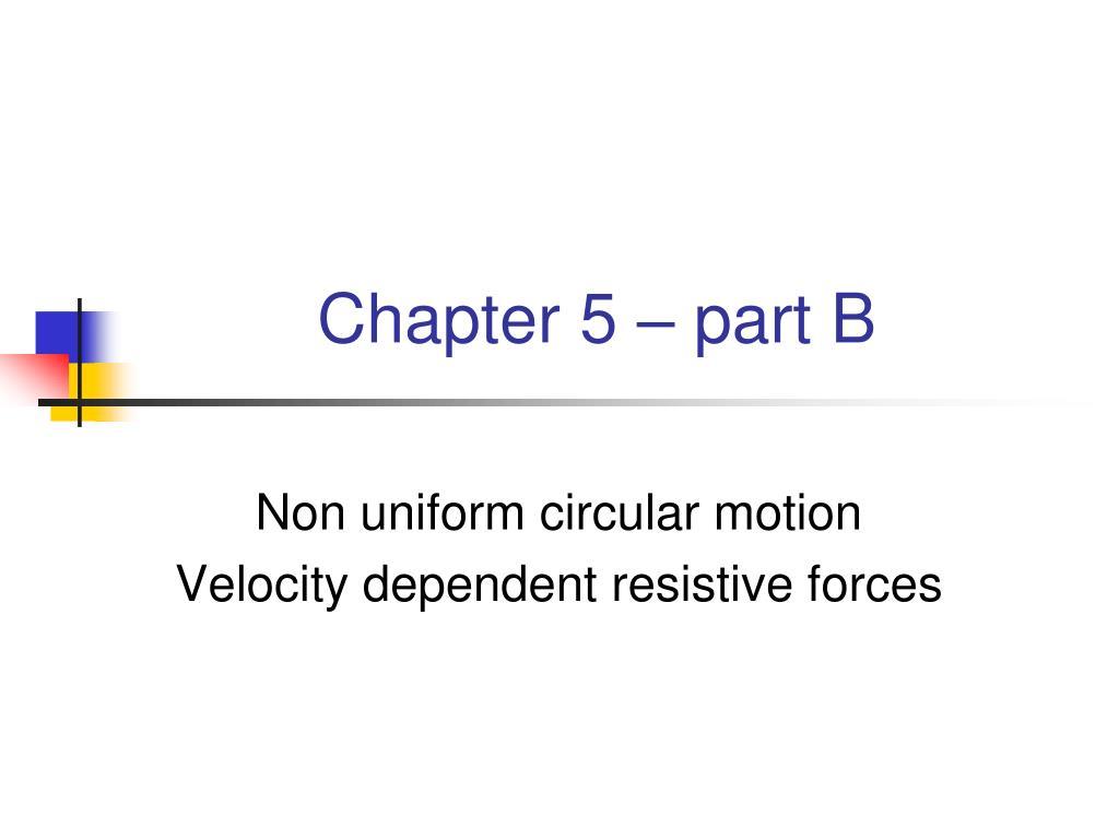 chapter 5 part b l.