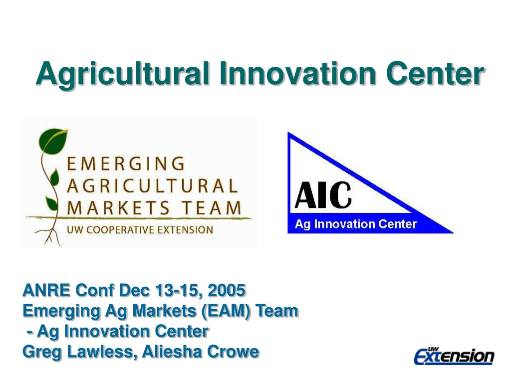 agricultural innovation center l.