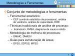 metodologias e ferramentas